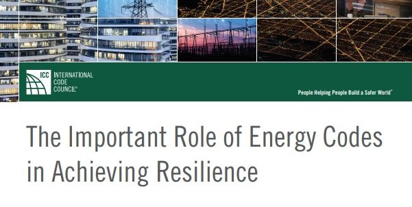 The Important Role of Energy Codes in Achieving Resilience